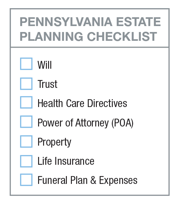 Pennsylvania Estate Planning Checklist